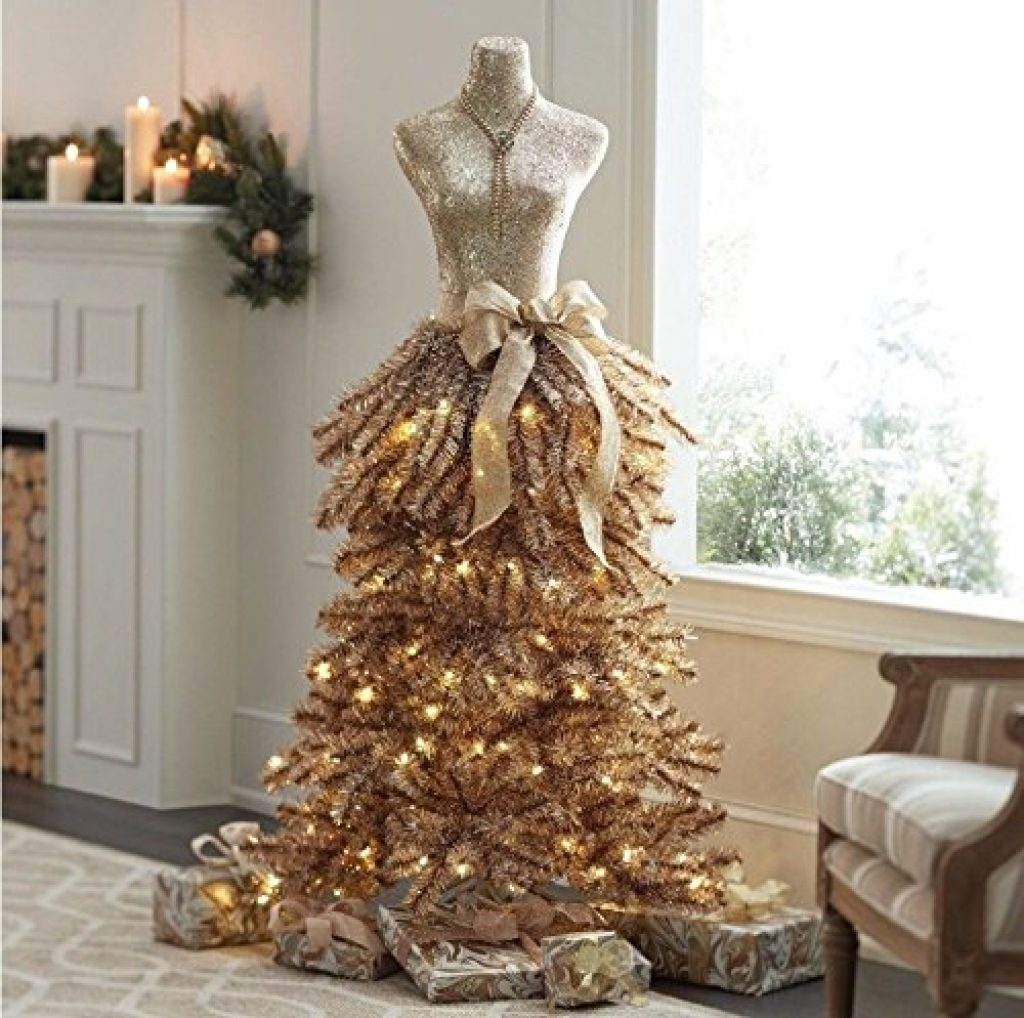 Dress Christmas Prelit Tree Christmas
