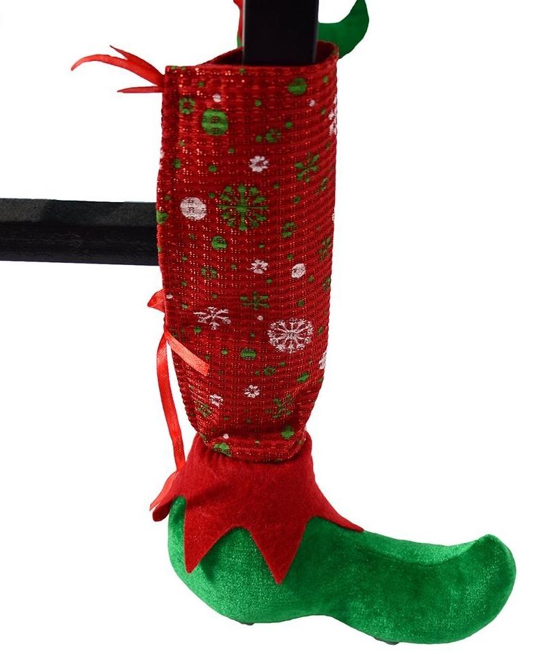 Set of 4 pcs Christmas Chair Socks