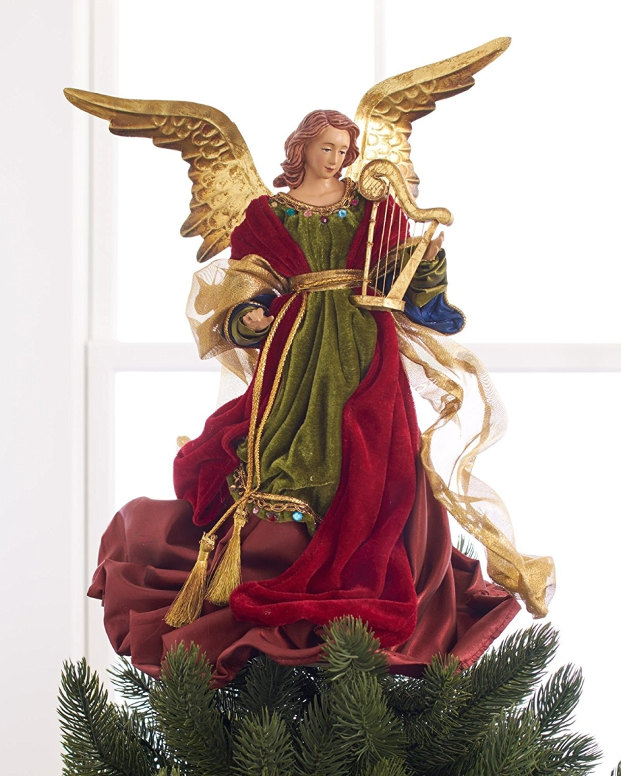 Balsam Hill 14″ Christmas Angel Tree Topper