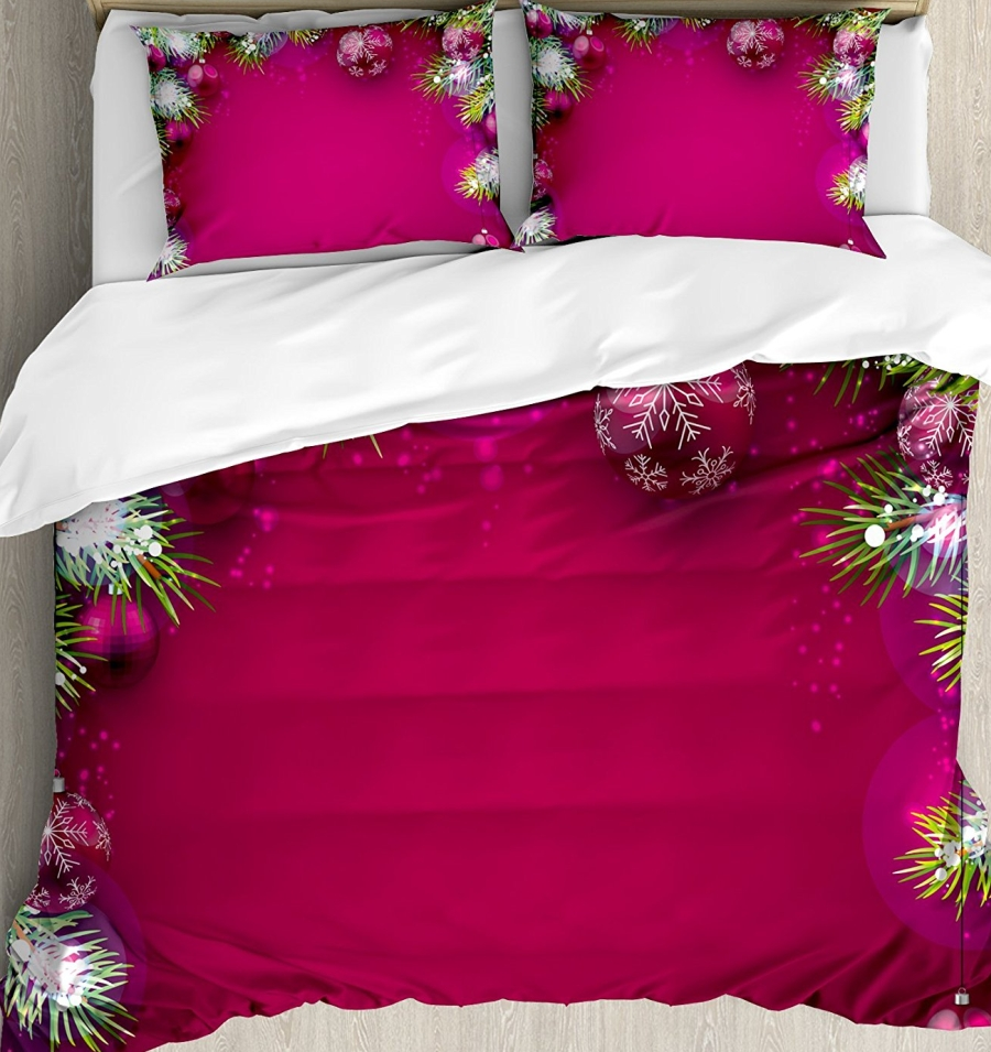 Christmas King Size Duvet Cover Set