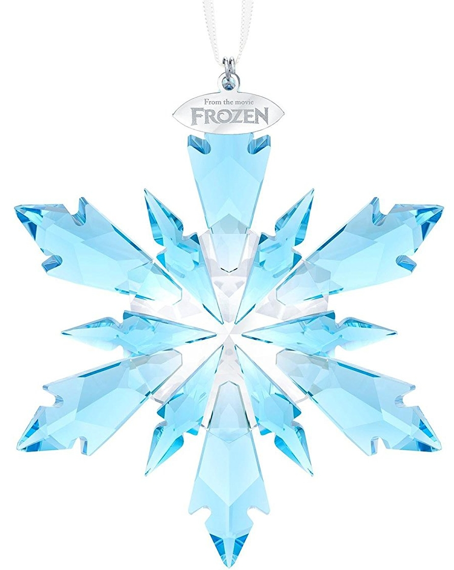 Swarovski Crystal Disneys Frozen Snowflake Ornament