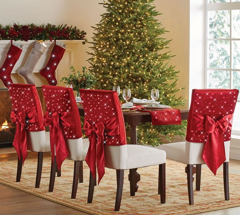 The Cordless Twinkling Chair Back Sleeves