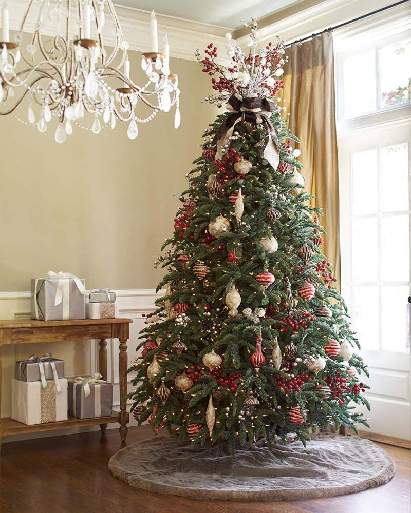 Balsam Hill Lodge Faux Fur Tree Skirt