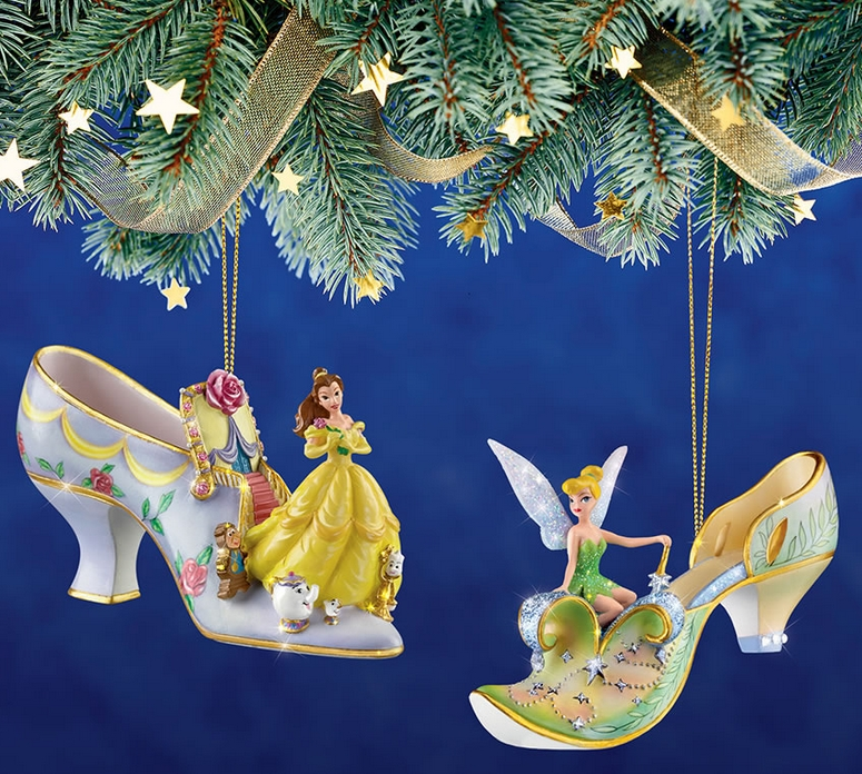 The Disney Princess Slipper Ornaments