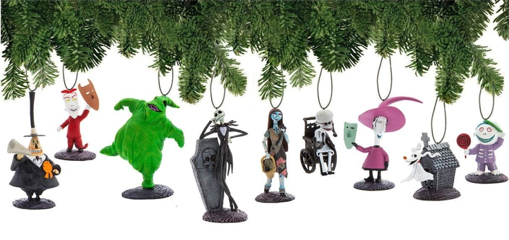 Disney Nightmare Before Christmas Ornament Set