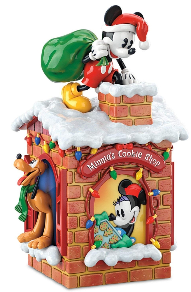 Disney Sweet Holiday Treats Mickey Mouse And Friends Christmas Cookie Jar