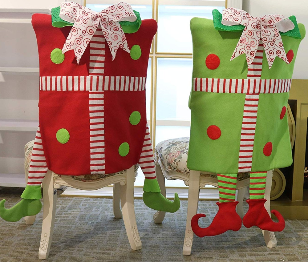 Elf Christmas Chair Slipcovers