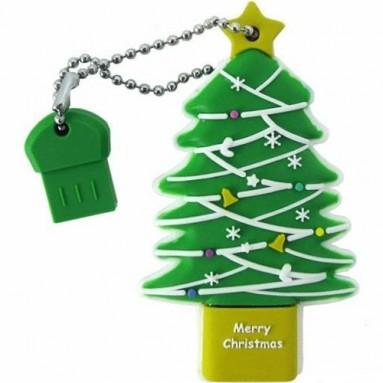 16 GB Christmas Tree USB Flash Drive