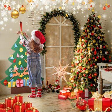 3Ft Felt Christmas Tree