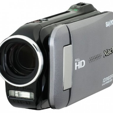 Sanyo VPC-GH4 Full HD 1080 Camcorder with 10X Dual Range Zoom (Charcoal)