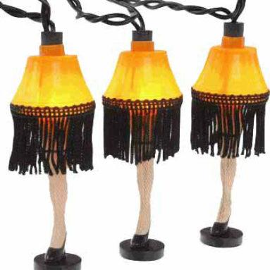 Christmas Story Strand Of Leg Holiday Lights