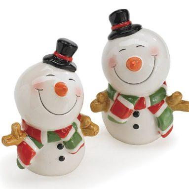 Snowman Salt & Pepper Shaker