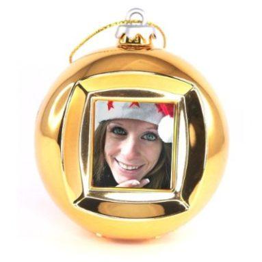 Christmas Ball Photo Frame