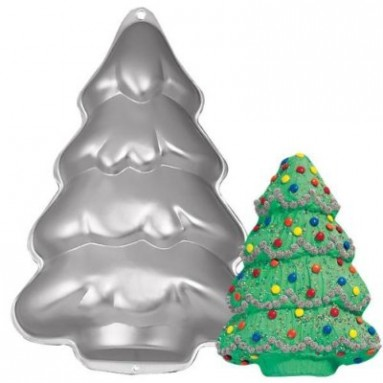 Cake Pan: Step-By-Step Holiday Tree/Christmas Tree