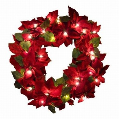 Bethlehem Lighting Red Velvet Poinsettia