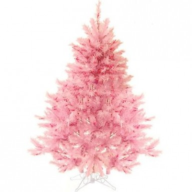 4.5′ Pre-Lit Pretty In Pink Artificial Christmas Tree