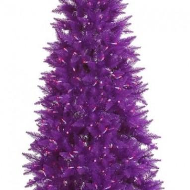 400 Purple Mini Lights Purple Wire