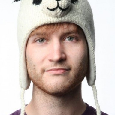 Panda Wool Pilot Animal Cap/Hat