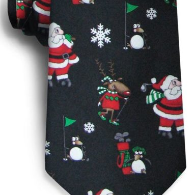 Mens Polar Golf Tie