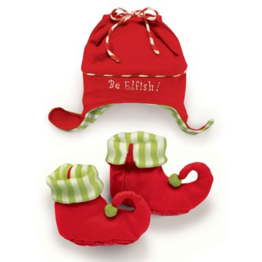 Elf Hat and Jingle Booties