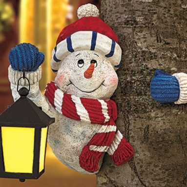 Holiday Snowman Treehugger