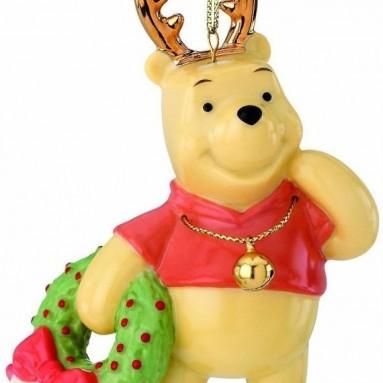 Pooh's Deerest Christmas Ornament