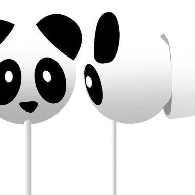 Panda Sound Isolating Design Crystal Clear Mega Bass Sound Earphone
