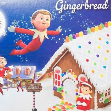 An Elf On The Shelf Gingerbread House Kit