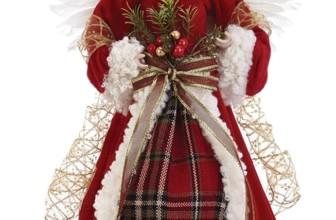 Angel Figurine Christmas Tree Topper