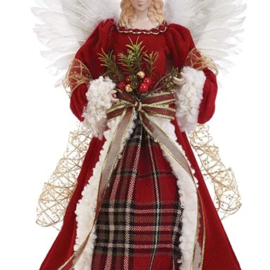 Angel Figurine Christmas Tree Topper