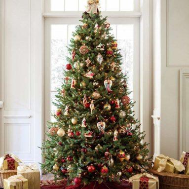 Balsam Fir Premium Prelit Artificial Christmas Tree