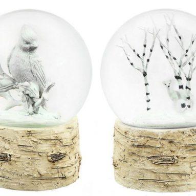 Birch Snow Globes