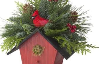 Birdhouse Centerpiece