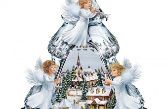 Blessings Of The Season Crystal Angel Tabletop