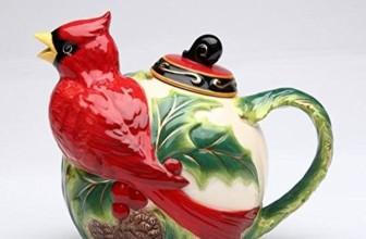 Ceramic Cardinal Teapot