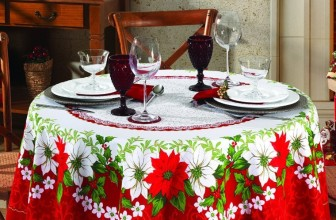 Christmas  round tablecloth