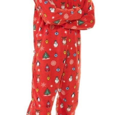 Christmas Adult Hoodie One Piece