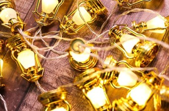 Christmas Festival 20 LED Lantern String Light
