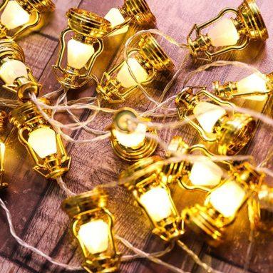 Christmas Festival 20 LED Lantern String Light