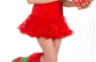 Christmas Fur Leg Warmers Adult Accessory