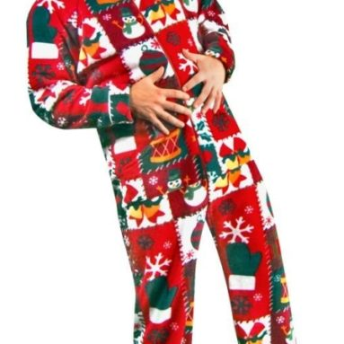 Christmas Fleece Pajamas