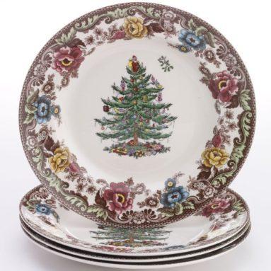 Christmas Tree Dinner Plates