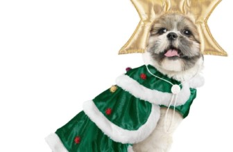 Christmas Tree Dog Christmas Outfit