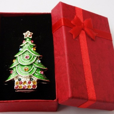 Christmas Tree Keychain 4GB USB