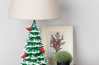 Christmas Tree Table Lamp