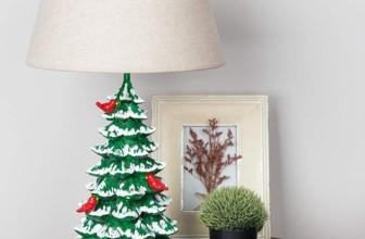 Christmas Tree Table Lamp