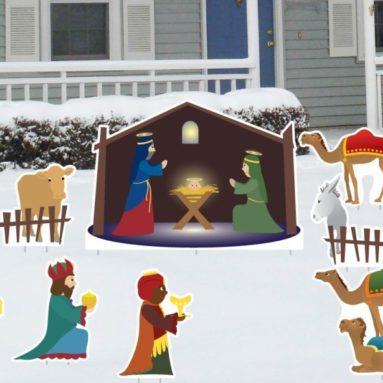 Christmas Yard Decoration Set