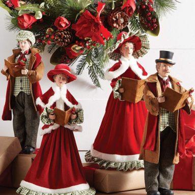 Christmas carolers Set