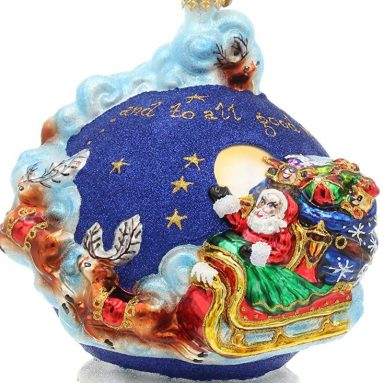 Christopher Radko Handcrafted Christmas Ornament