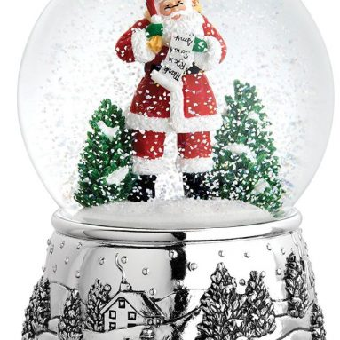 Classic Christmas Large Globe Ornament